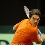 Jesse Huta Galung Davis Cup 2013 NL-Aut 247