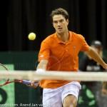 Jesse Huta Galung Davis Cup 2013 NL-Aut 320