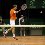 Jesse Huta Galung Davis Cup 2013 NL-Aut 325