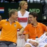 Jesse Huta Galung Davis Cup 2013 NL Oostenrijk 158