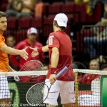Jesse Huta Galung Jurgen Melzer Davis Cup 2013 NL-Aut 333