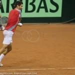 Julian Knowle Davis Cup 2013 NL Oostenrijk 9575
