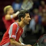 Julian Knowle en Marach Davis Cup 2013 NL Oostenrijk 9554