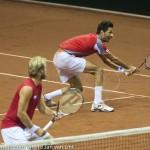 Julian Knowle en Marach Davis Cup 2013 NL Oostenrijk 9565