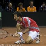 Julien Knowle Davis Cup 2013 Nederland Oostenrijk 9447