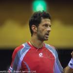 Julien Knowle Davis Cup 2013 Nederland Oostenrijk 9463