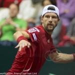 Jurgen Melzer Davis Cup 2013 NL Oostenrijk 123