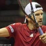 Jurgen Melzer Davis Cup 2013 NL Oostenrijk 170