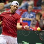 Jurgen Melzer Davis Cup 2013 NL Oostenrijk 201