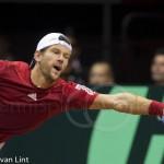 Jurgen Melzer Davis Cup 2013 NL Oostenrijk 227