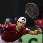Jurgen Melzer Davis Cup 2013 NL Oostenrijk 230