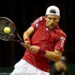 Jurgen Melzer Davis Cup 2013 NL Oostenrijk 8637