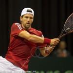 Jurgen Melzer Davis Cup 2013 NL Oostenrijk 8638
