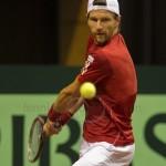 Jurgen Melzer Davis Cup 2013 NL Oostenrijk 8640