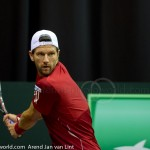 Jurgen Melzer Davis Cup 2013 NL Oostenrijk 8645