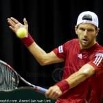Jurgen Melzer Davis Cup 2013 NL Oostenrijk 8648