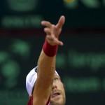 Jurgen Melzer Davis Cup 2013 NL Oostenrijk 8714
