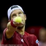 Jurgen Melzer Davis Cup 2013 NL Oostenrijk 8716