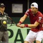 Jurgen Melzer Davis Cup 2013 NL Oostenrijk 8729