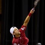 Jurgen Melzer Davis Cup 2013 NL Oostenrijk 8776