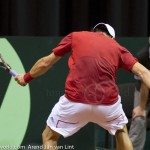 Jurgen Melzer Davis Cup 2013 NL Oostenrijk 8834