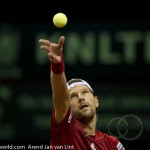 Jurgen Melzer Davis Cup 2013 NL Oostenrijk 8935