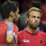Marach en Knowle Davis Cup 2013 Nederland Oostenrijk team 3608
