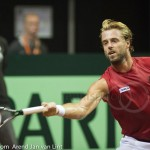 Oliver Marach Davis Cup 2013 NL Oostenrijk 8393