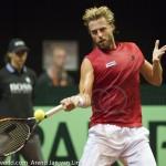Oliver Marach Davis Cup 2013 NL Oostenrijk 8394