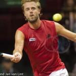 Oliver Marach Davis Cup 2013 NL Oostenrijk 8401
