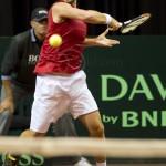 Oliver Marach Davis Cup 2013 NL Oostenrijk 8446