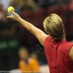 Oliver Marach Davis Cup 2013 NL Oostenrijk 8486
