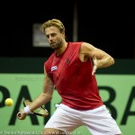 Oliver Marach Davis Cup 2013 NL Oostenrijk 8518