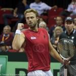 Oliver Marach Davis Cup 2013 NL Oostenrijk 9446