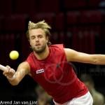 Oliver Marach Davis Cup 2013 NL Oostenrijk 9472