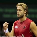 Oliver Marach Davis Cup 2013 NL Oostenrijk 9490