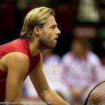 Oliver Marach Davis Cup 2013 NL Oostenrijk 9533