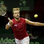 Oliver Marach Davis Cup 2013 NL Oostenrijk 9560