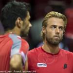Oliver Marach en Knowle Davis Cup 2013 NL Oostenrijk 3608