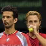 Oliver Marach en Knowle Davis Cup 2013 NL Oostenrijk 9488
