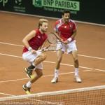 Oliver Marach en Knowle Davis Cup 2013 NL Oostenrijk 9679