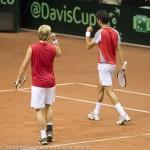 Oliver Marach en Knowle Davis Cup 2013 NL Oostenrijk 9686