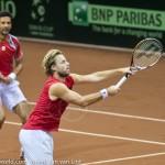 Oliver Marach en Knowle Davis Cup 2013 NL Oostenrijk 9769