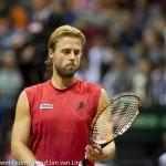 Oliver Marach en Knowle Davis Cup 2013 NL Oostenrijk 9783