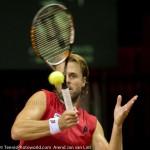 Oliver Marach en Knowle Davis Cup 2013 NL Oostenrijk 9811