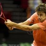 Robin Haase Davis Cup 2013 NL Oostenrijk 8526