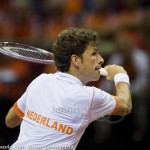 Robin Haase Davis Cup 2013 Nederland Oostenrijk 9905