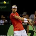 Thiemo de Bakker Davis Cup NL-Oostenrijk Melzer 8654