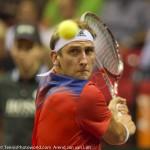 Thiemo de Bakker Davis Cup NL-Oostenrijk Melzer 8685