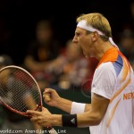 Thiemo de Bakker Davis Cup NL-Oostenrijk Melzer 9180